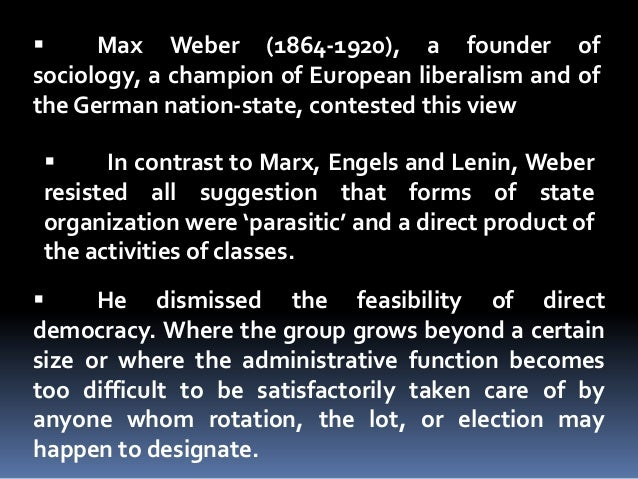 the different aspects of marxism in lenins the state and revolution Lenin's conception of socialism:  there has been a great variety of forms of socialism in different countries,  state and revolution.