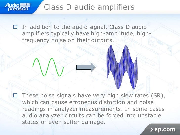 Class d and linear power amplifier testing