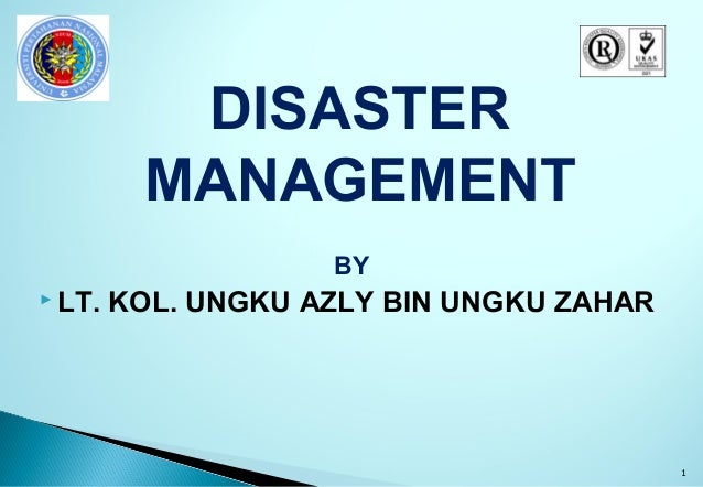 introduction to disaster management The importance of private sector involvement in disaster risk reduction (drr) has  been recognized for several years at the international level.