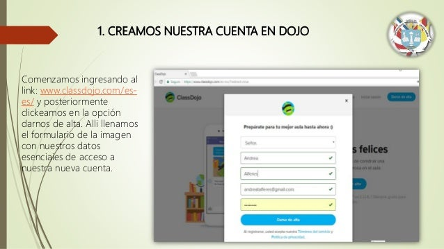 Class Dojo grupo Amauta  - Jorge Huayta Slide 3