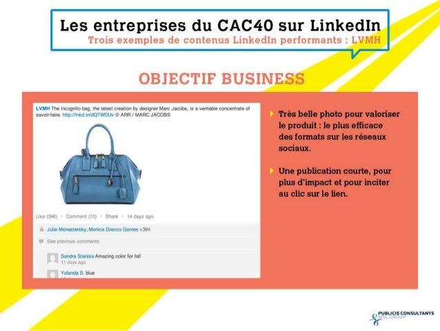 Classement Linkedin CAC40