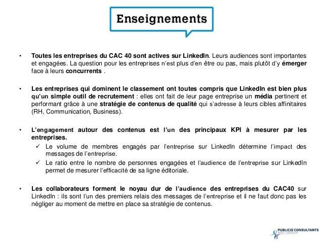 - L'Oréal, Schneider Electric et Capgemini sont les  *  entreprises du CAC 40 les plus suivies sur LinkedIn  - Trois entre...