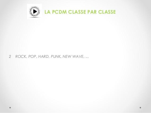 LA PCDM CLASSE PAR CLASSE 2 ROCK, POP, HARD, PUNK, NEW WAVE, ...