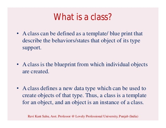 Classes and Nested Classes in Java