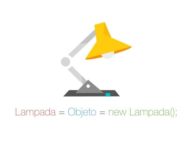 Lampada = Objeto = new Lampada();