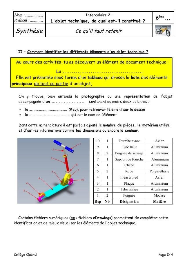 Classeur technologie 6e - Materiaux net ...