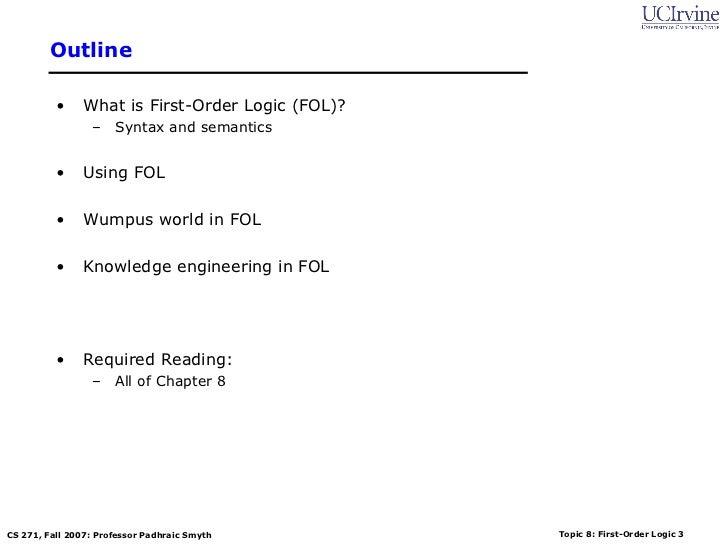 Class first order logic