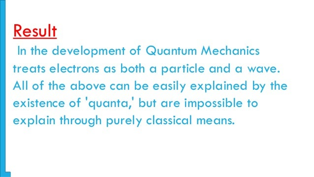 Limitations OF Classical Physics and Birth Of Quantum Mechanics