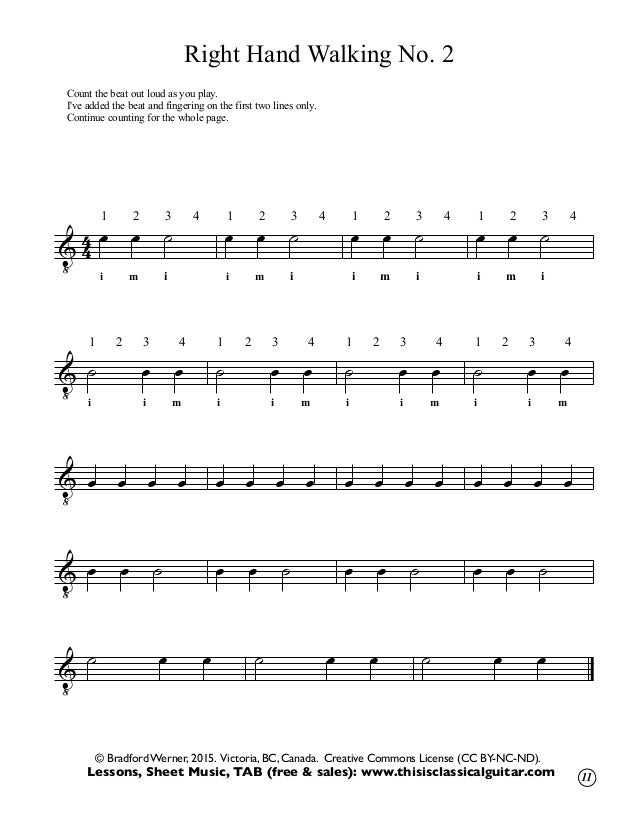 All Music Chords haydn trumpet concerto sheet music : Classical guitar-method-one-2014