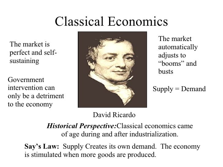 Classical Economics Vs. Keynesian Economics: The Key Differences