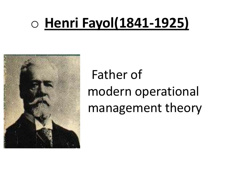 henry fayol principles of management applied coco cola Bureaucracy and administrative management theory and contributions administrative management (contribution of henri fayol) coca-cola.