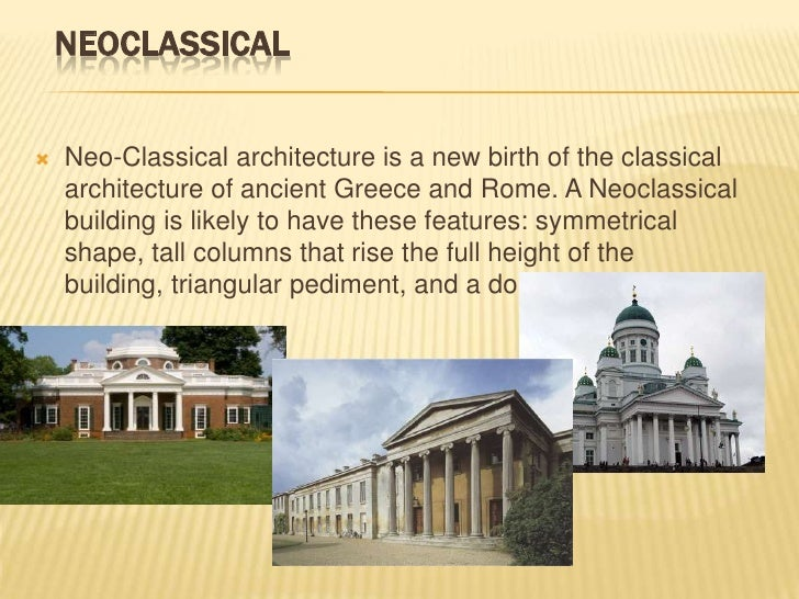 name of neoclassical style of architecture with some egyptian