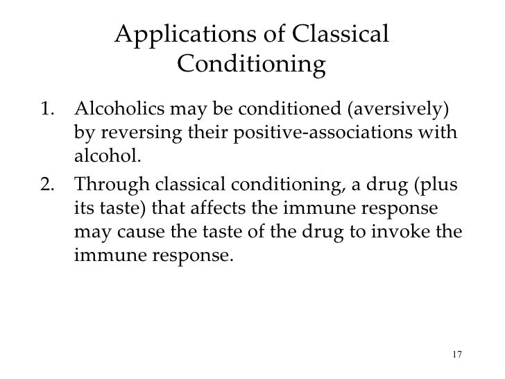 classical higher order conditioning