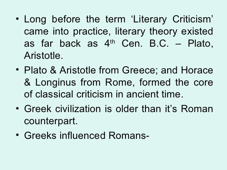 expressive theories of horace and longinus