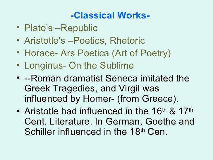 an overview of ancient greek and roman tragedies The roman philosopher cicero said that if plato's prose was silver, aristotle's was a flowing river of gold  including what makes for a convincing argument and how a well-wrought tragedy can.