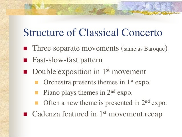 Classical Genres
