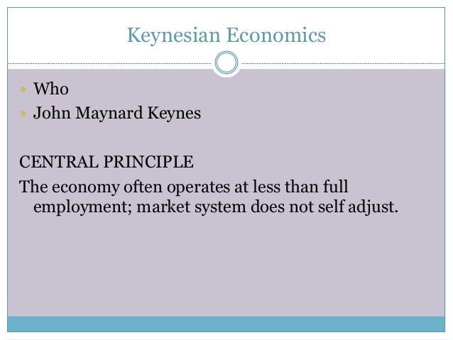 Differences Between Classical & Keynesian Economics