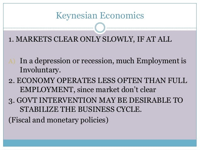 difference between classical and keynesian economics pdf