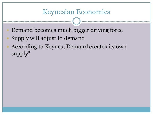 keynesian economics and classical economics Because keynesian economics diagnoses recessions as being due to inadequate spending, it follows that saving is deplored in this framework in the keynesian view, when workers save their paychecks, they are not out in the community spending money and stimulating businesses.