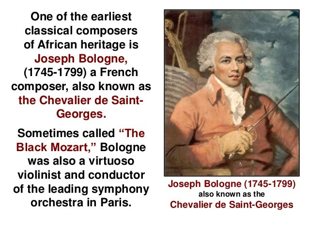 Classical Music Composers of African Heritage