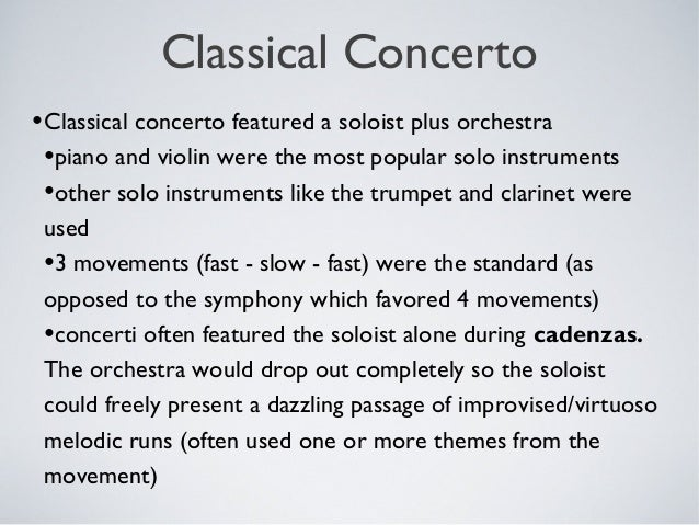 Classical power point