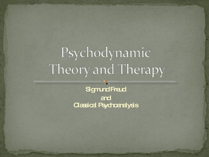 Sigmund Freud and Classical Psychoanalysis