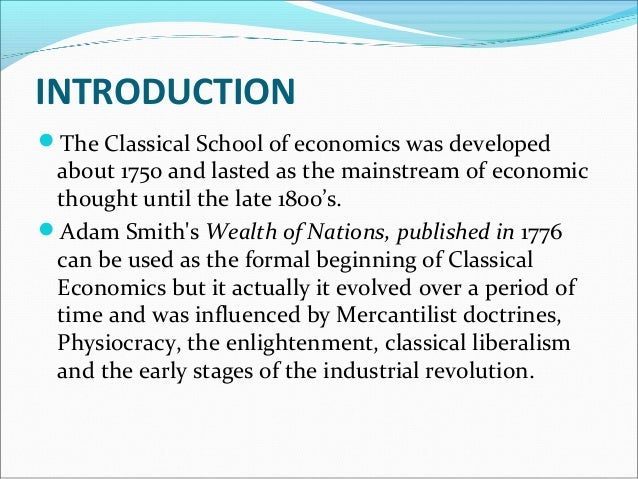 CLASSICAL SCHOOL OF ECONOMICS DOWNLOAD