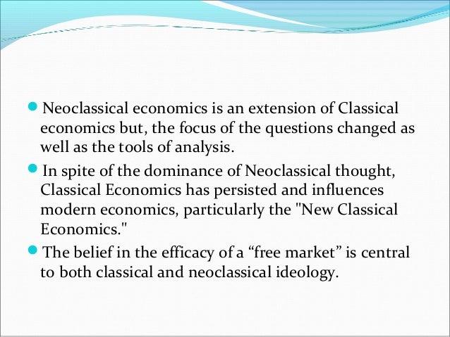 classical economics essay
