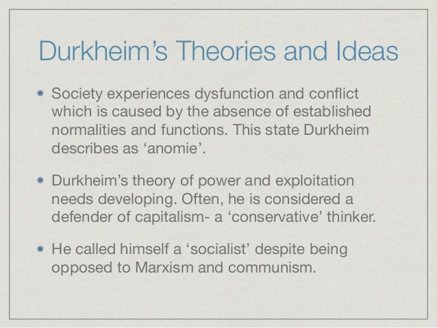 a recount of durkheims sociological concepts and theories I'd also struggle to learn new concepts that built upon any or all of these concepts i had previously learned  the sociological imagination  when i recount.
