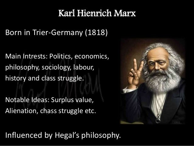 karl marx and weber