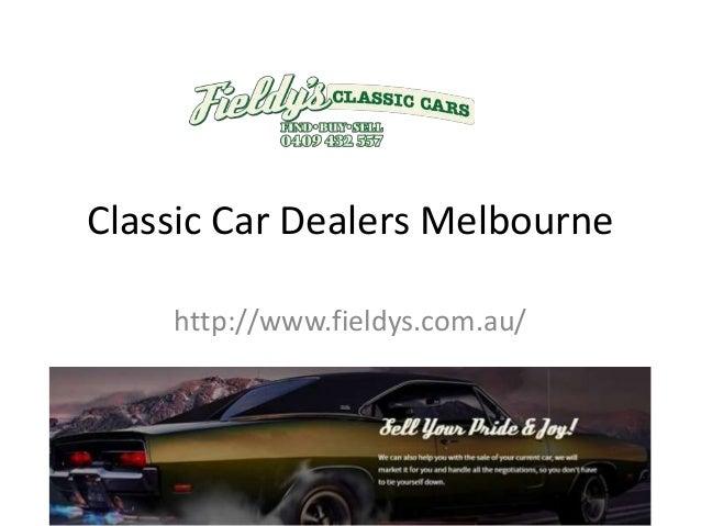 Classic Car Dealers Melbourne - Muscle car dealers