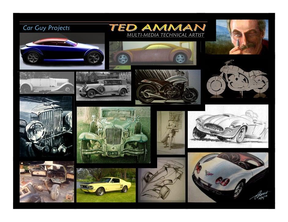 Car Guy Projects                    MULTI-MEDIA TECHNICAL ARTIST