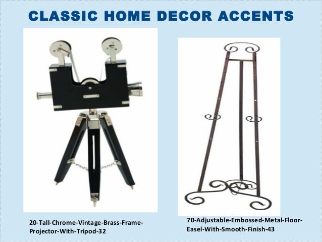 classic home decor accents