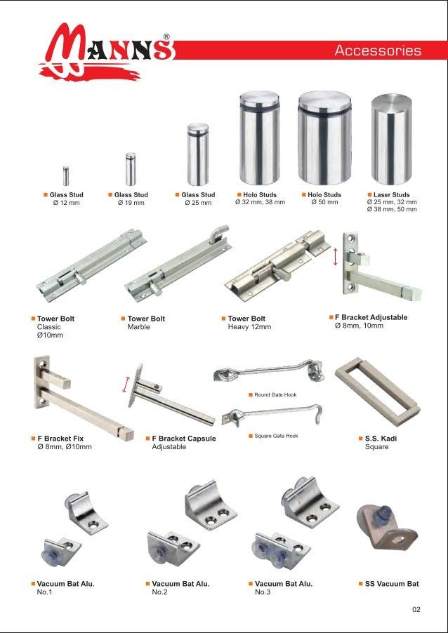 Stainless Steel Hardware & Fittings By Mann Enterprise, Rajkot Slide 3