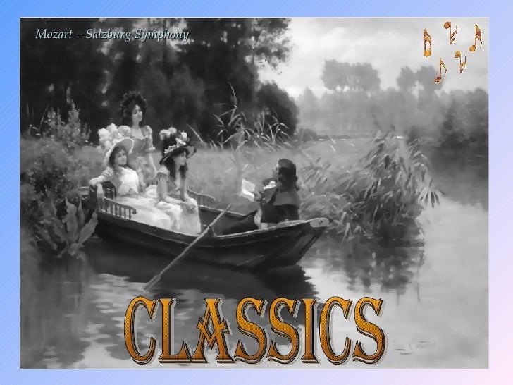 Classics Mozart  – Salzburg Symphony