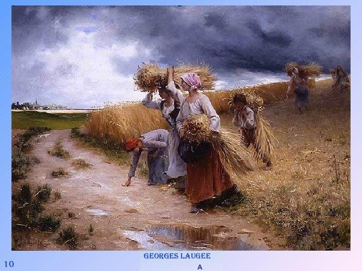 10 Georges Laugee   A l'approche du grain