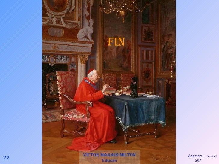 22 Victor Marais-Milton   Educan FIN Adaptare –  Ninu C. 2007