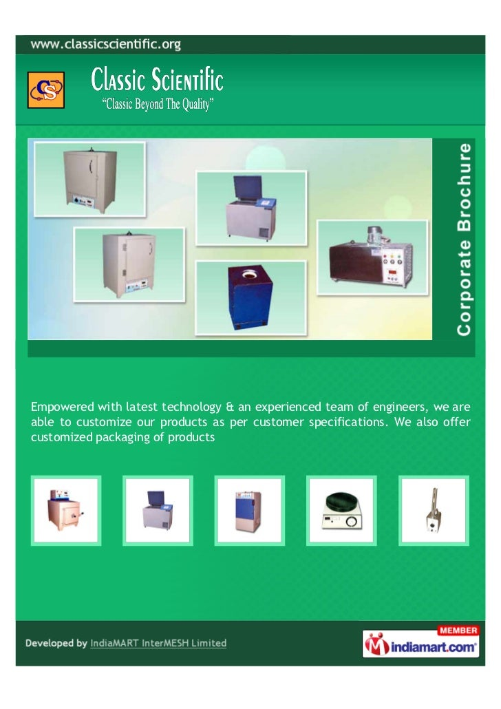 Empowered with latest technology & an experienced team of engineers, we areable to customize our products as per customer ...