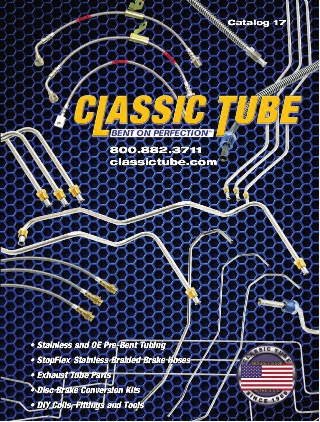 1977 El Camino Complete Prebent Brake Line Kit Regular Steel