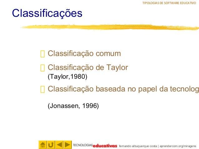 Tipologias de software educativo Slide 2