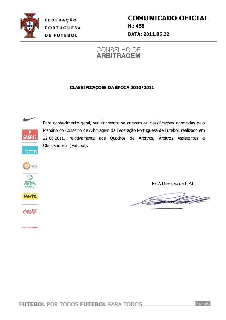 COMUNICAD OFICIAL                                                   ICADO                                              N.:...