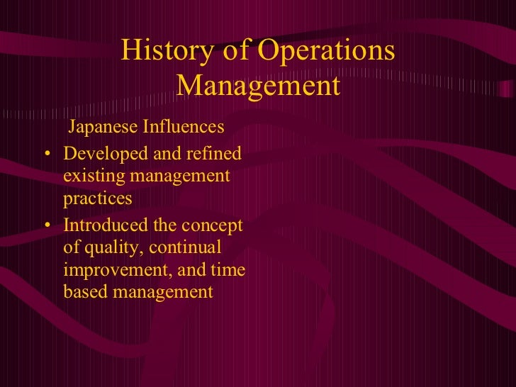 what is the goal of operations management The performance management process lets employees document and discuss  you can create future activities that must be completed to help you accomplish a goal,.