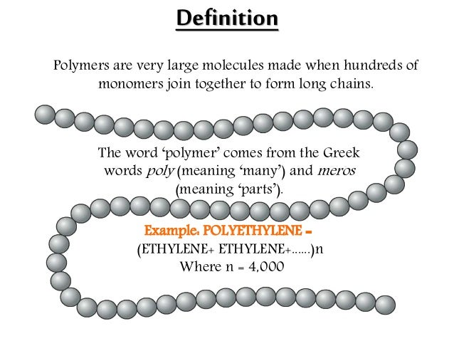 POLYMERS DEFINITION PDF DOWNLOAD