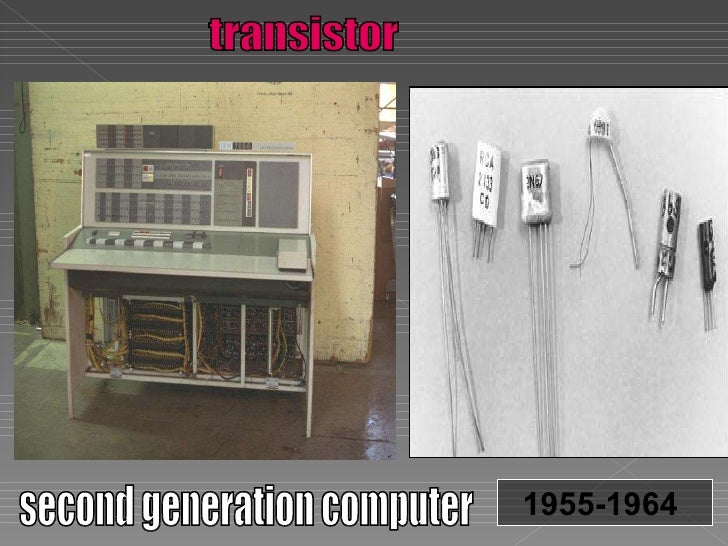 second generation of computers