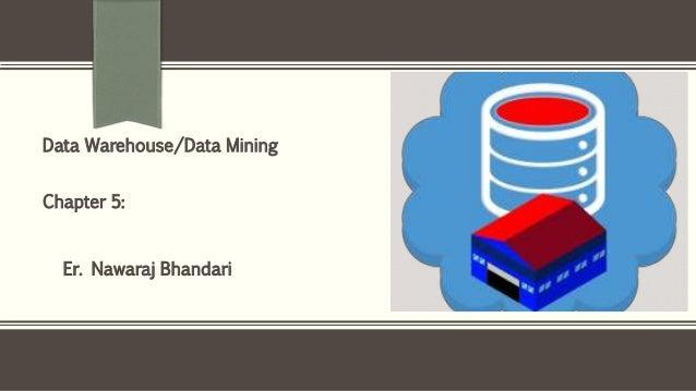 Er. Nawaraj Bhandari Data Warehouse/Data Mining Chapter 5: