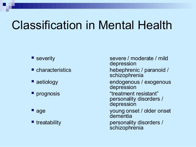 the advantages and disadvantages of diagnosing mental health conditions In this module, your study includes the origin, development, and symptoms of mental disorders, known as psychopathology to complete this activity, consider the.