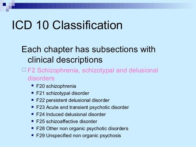 an examination of the mental disorder schizophrenia Schizophrenia is a brain disorder that probably comprises several separate illnesses schizophrenia clinical presentation mental status examination.