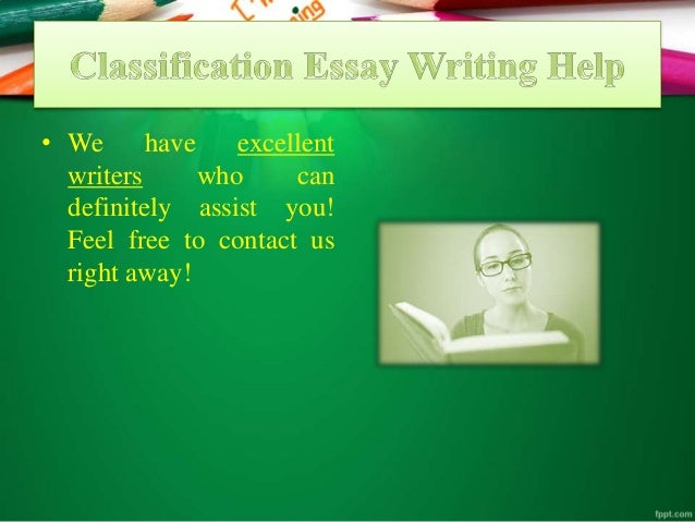 Fee classification essay