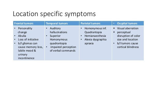 Classification of brain tumors AND MANAGEMENT OG LOW GRADE ...