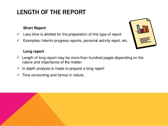 Classification of Business Reports – Type of Business Report